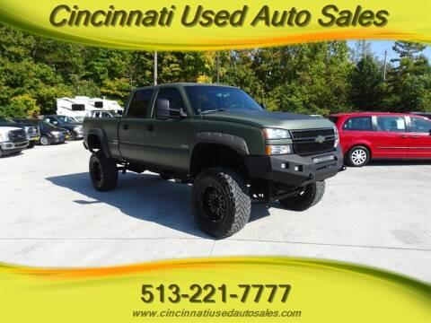 2003 Chevrolet Silverado 2500HD for sale at Cincinnati Used Auto Sales in Cincinnati OH