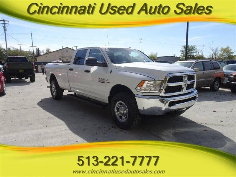 2014 RAM Ram Pickup 2500 for sale at Cincinnati Used Auto Sales in Cincinnati OH