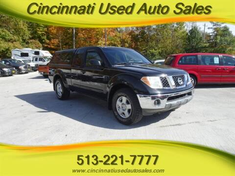 2006 Nissan Frontier for sale at Cincinnati Used Auto Sales in Cincinnati OH