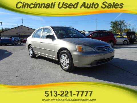 2003 Honda Civic for sale at Cincinnati Used Auto Sales in Cincinnati OH