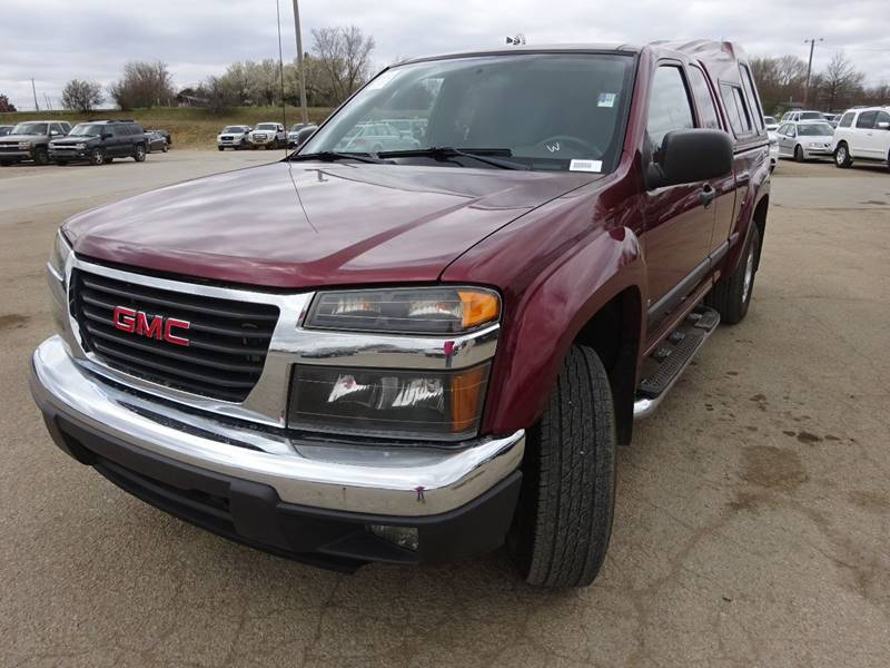 2007 gmc canyon sle 4dr extended cab 4wd sb in topeka ks dons carz vehicle options publicscrutiny Image collections