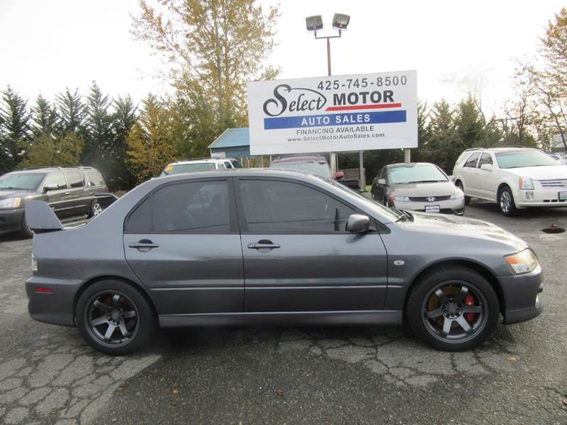 2006 Mitsubishi Lancer Evolution AWD IX 4dr Sedan   Lynnwood WA