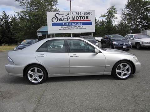2001 Lexus IS 300 for sale in Lynnwood, WA