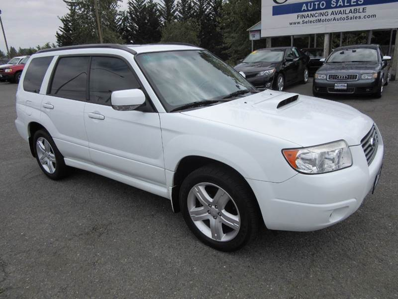 2007 Subaru Forester Awd 25 Xt Limited 4dr Wagon 25l F4 4a In