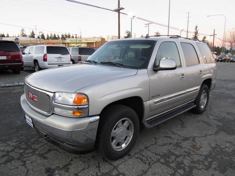 2006 gmc yukon slt 4dr suv 4wd in lynnwood wa select motor auto sales vehicle options sciox Choice Image