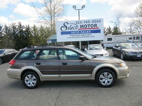 2008 Subaru Outback for sale at Select Motor Auto Sales in Lynnwood WA