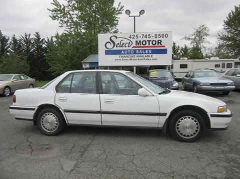 1991 Honda Accord for sale in Lynnwood, WA
