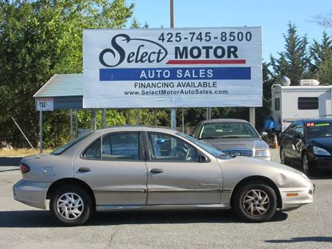 2000 Pontiac Sunfire for sale in Lynnwood, WA