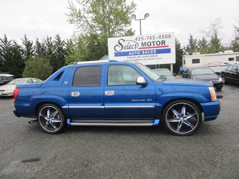 2003 Cadillac Escalade EXT for sale in Lynnwood, WA