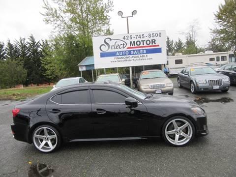 2006 Lexus IS 350 for sale in Lynnwood, WA