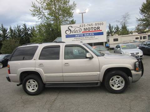2004 Chevrolet Tahoe for sale in Lynnwood, WA