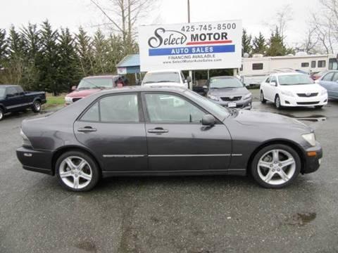 2002 Lexus IS 300 For Sale In Lynnwood, WA