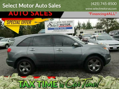 Cars For Sale In Lynnwood Wa Select Motor Auto Sales
