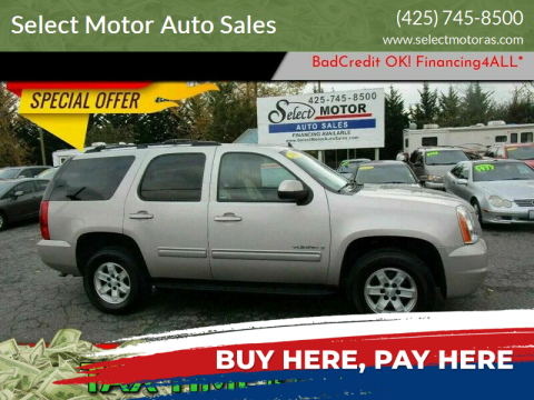 2009 GMC Yukon for sale at Select Motor Auto Sales in Lynnwood WA