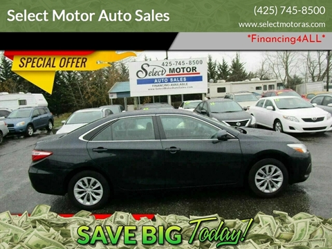 2015 Toyota Camry for sale at Select Motor Auto Sales in Lynnwood WA