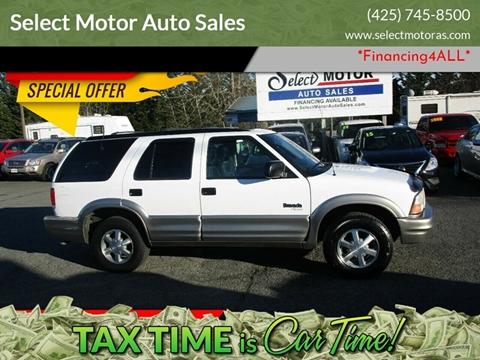 2001 Oldsmobile Bravada for sale in Lynnwood, WA