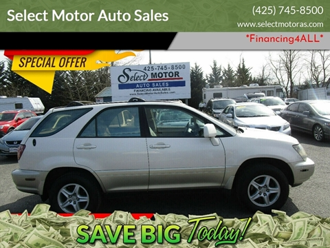 2000 Lexus RX 300 for sale at Select Motor Auto Sales in Lynnwood WA