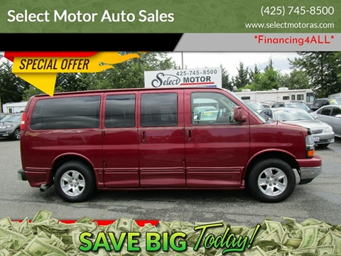 2006 Chevrolet Express Cargo for sale in Lynnwood, WA