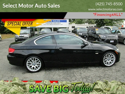 Bmw 3 Series For Sale In Lynnwood Wa Select Motor Auto Sales