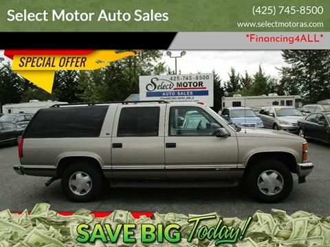 1998 Chevrolet Suburban for sale in Lynnwood, WA