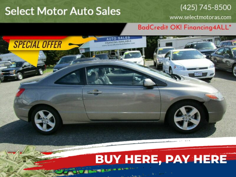 2008 Honda Civic for sale at Select Motor Auto Sales in Lynnwood WA