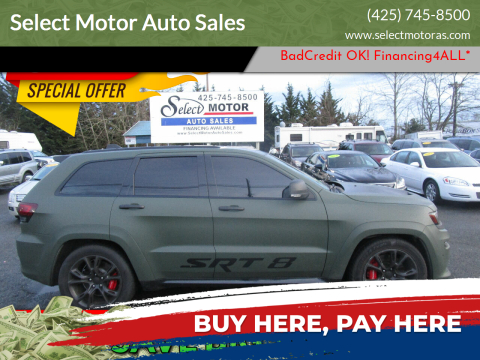 2014 Jeep Grand Cherokee for sale at Select Motor Auto Sales in Lynnwood WA