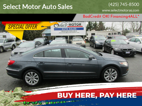 2010 Volkswagen CC for sale at Select Motor Auto Sales in Lynnwood WA