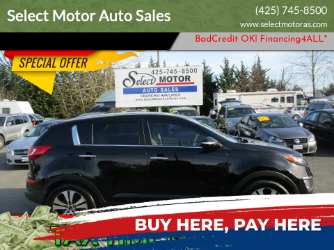 2011 Kia Sportage for sale at Select Motor Auto Sales in Lynnwood WA