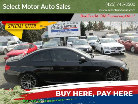 2011 BMW 3 Series for sale at Select Motor Auto Sales in Lynnwood WA