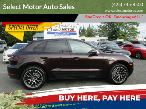 2016 Porsche Macan for sale at Select Motor Auto Sales in Lynnwood WA