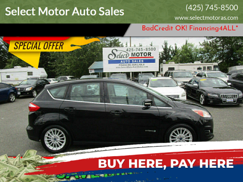 2013 Ford C-MAX Hybrid for sale at Select Motor Auto Sales in Lynnwood WA