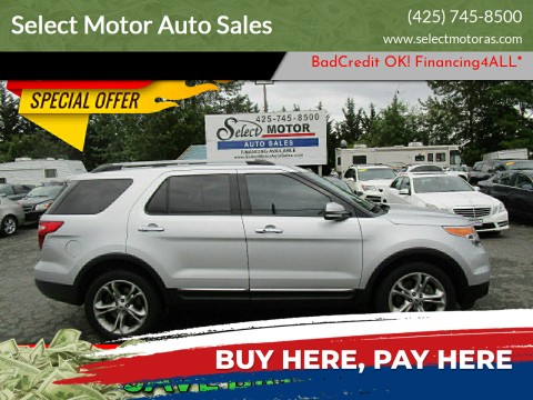 2014 Ford Explorer for sale at Select Motor Auto Sales in Lynnwood WA