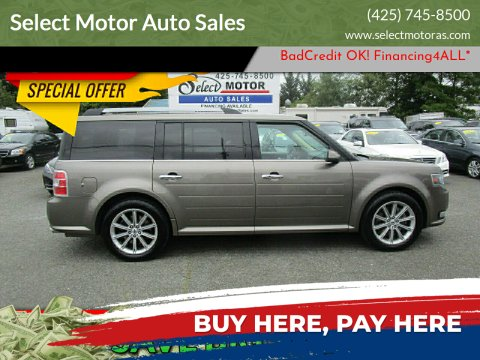 2014 Ford Flex for sale at Select Motor Auto Sales in Lynnwood WA