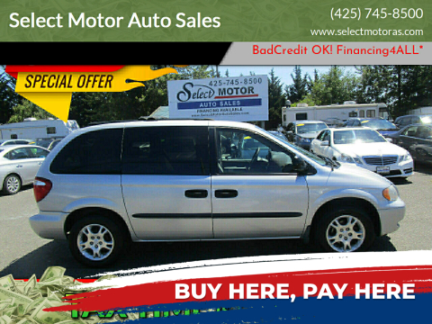 2003 Dodge Caravan for sale at Select Motor Auto Sales in Lynnwood WA