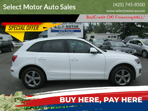 2012 Audi Q5 for sale at Select Motor Auto Sales in Lynnwood WA