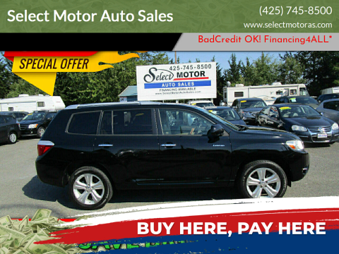 2010 Toyota Highlander for sale at Select Motor Auto Sales in Lynnwood WA