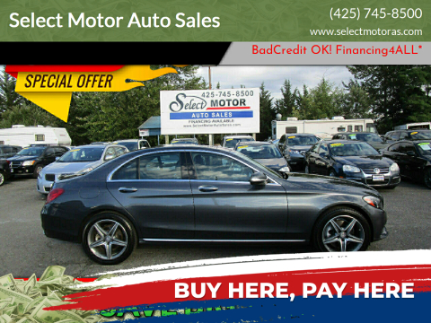 2015 Mercedes-Benz C-Class for sale at Select Motor Auto Sales in Lynnwood WA