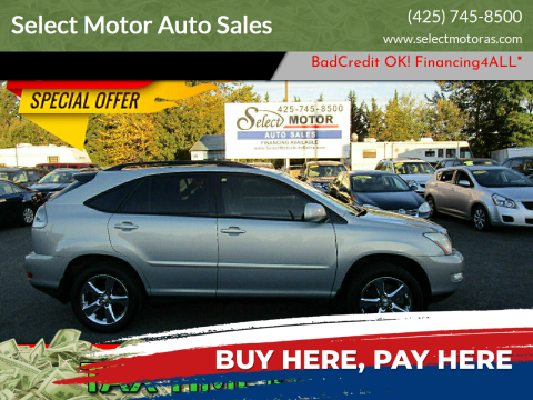 2004 Lexus RX 330 for sale at Select Motor Auto Sales in Lynnwood WA