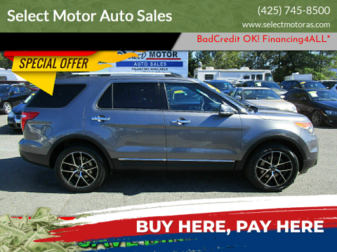 2013 Ford Explorer for sale at Select Motor Auto Sales in Lynnwood WA