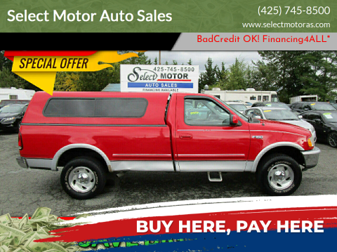 1997 Ford F-150 for sale at Select Motor Auto Sales in Lynnwood WA