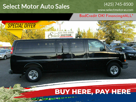 2016 Chevrolet Express Passenger for sale at Select Motor Auto Sales in Lynnwood WA