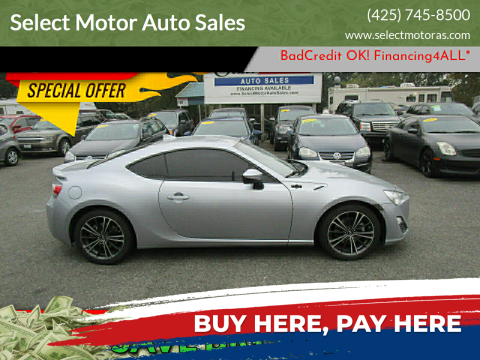 2015 Scion FR-S for sale at Select Motor Auto Sales in Lynnwood WA