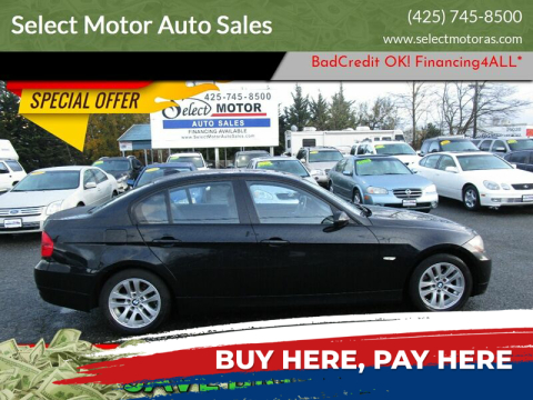 2006 BMW 3 Series for sale at Select Motor Auto Sales in Lynnwood WA