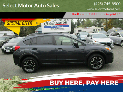 2015 Subaru XV Crosstrek for sale at Select Motor Auto Sales in Lynnwood WA