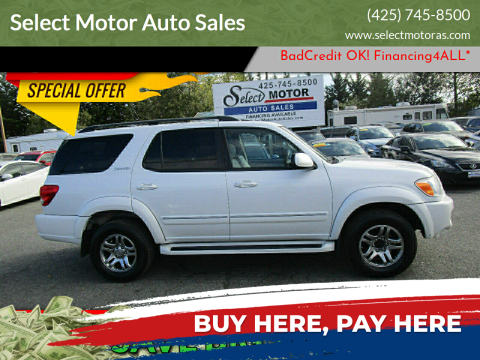 2006 Toyota Sequoia for sale at Select Motor Auto Sales in Lynnwood WA