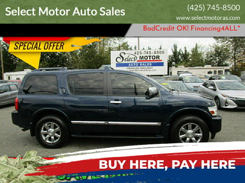 2007 Infiniti QX56 for sale at Select Motor Auto Sales in Lynnwood WA