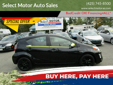 2016 Toyota Prius c for sale at Select Motor Auto Sales in Lynnwood WA
