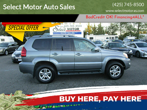 2003 Lexus GX 470 for sale at Select Motor Auto Sales in Lynnwood WA