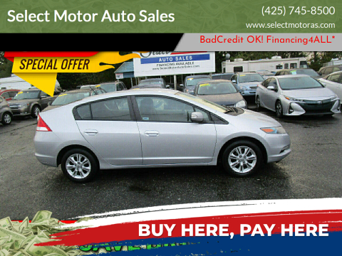 2010 Honda Insight for sale at Select Motor Auto Sales in Lynnwood WA