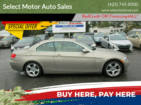 2009 BMW 3 Series for sale at Select Motor Auto Sales in Lynnwood WA